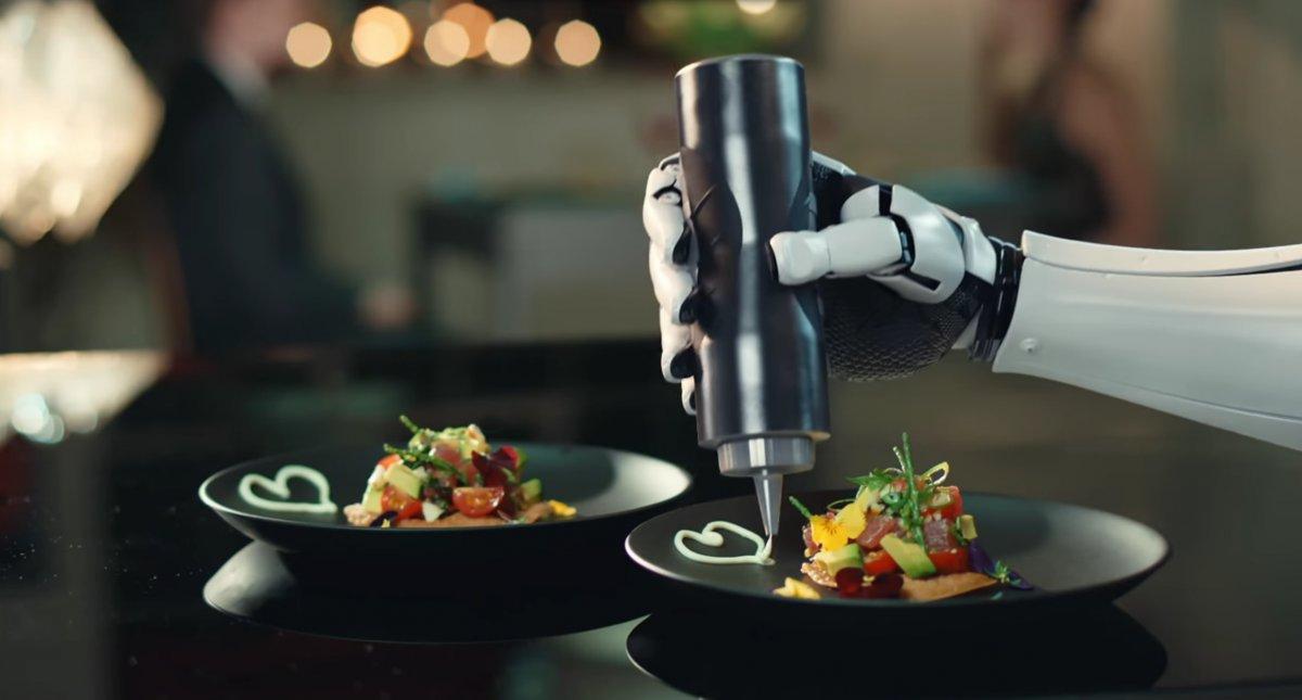 robot kitechen